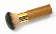 Brand 1 pcs tarte the buffer airbrush finish bamboo foundation powder contour makeup brushes flat kabuki kit pinceis maquiagem.(China (Mainland))