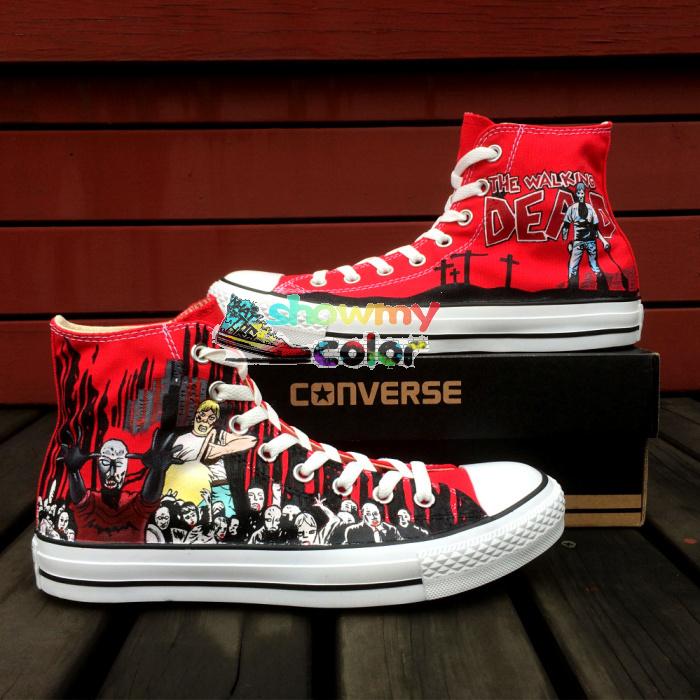 aliexpress buy converse the walking dead custom