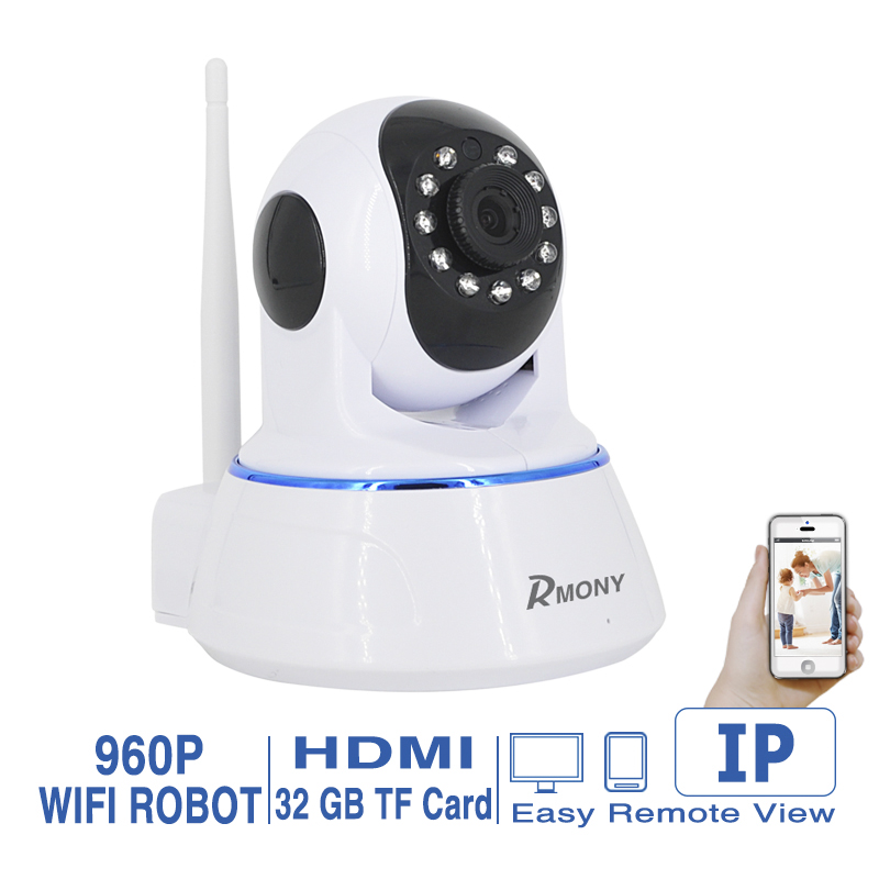 1 PCS Best Smart IP Camera Wifi Indoor 720P HD Baby Monitor Home Protection Mobile Remote Control Wireless Security Camera(China (Mainland))