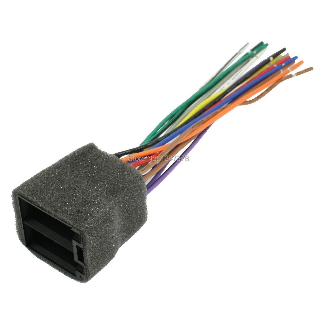 Car DVD Navigation Wiring Harness Connector for Volkswagen Passat B5<br><br>Aliexpress