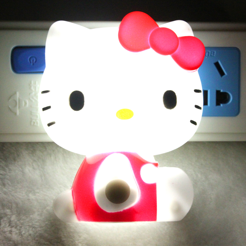 Lampe bonjour kitty promotion achetez des lampe bonjour kitty promotionnels sur - Table de nuit hello kitty ...