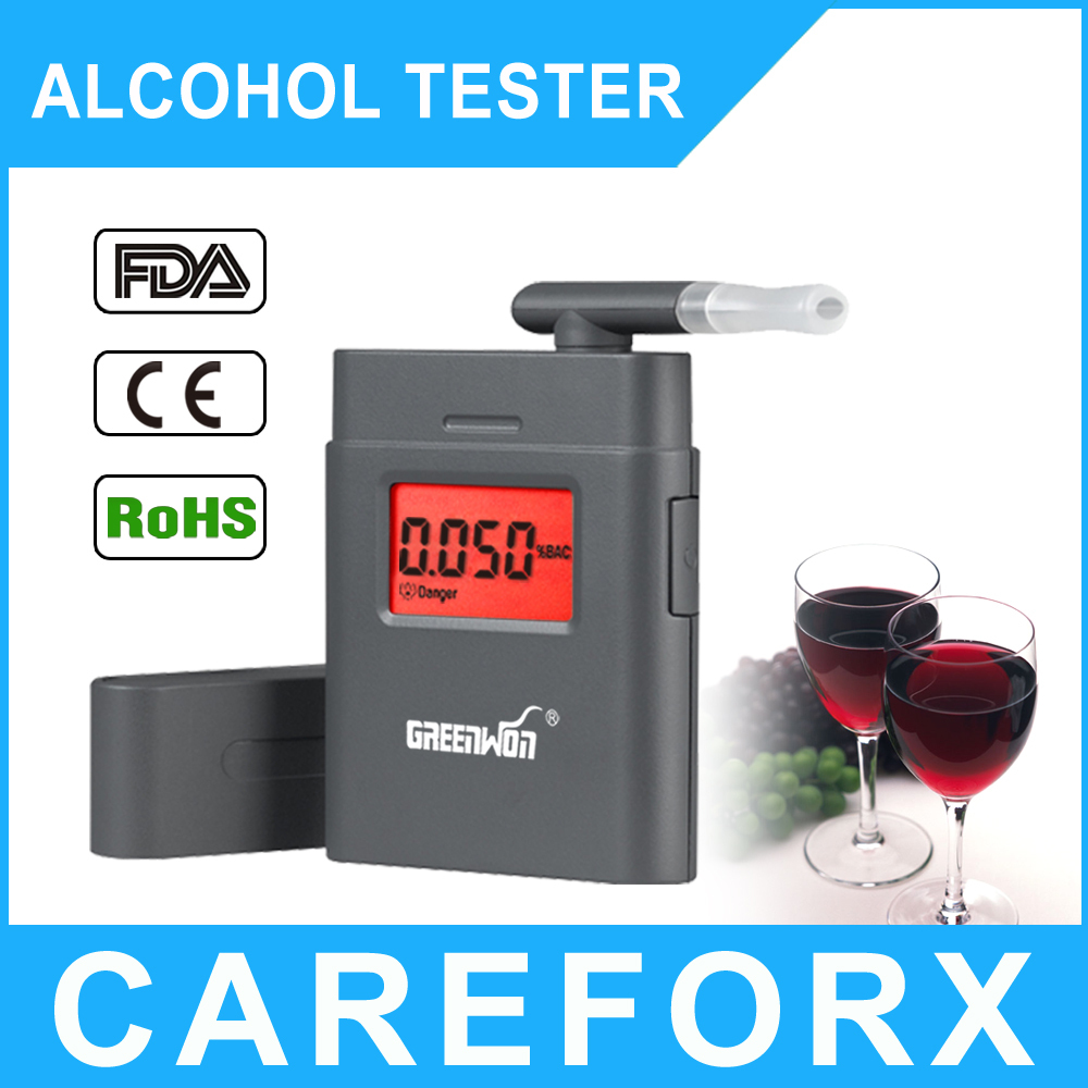 2015 Factory price Breathalyzer AT-838 Digital Breath Alcohol Tester with mouthpiece High Quality digit LCD Alcohol Tester Clock(China (Mainland))