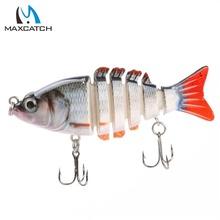 Maxcatch 1pcs 85MM Segmented Section  Multi Jointed Fishing Lure Life-like Hard Fishing Lure Swimbait Artificial Fishing Lure