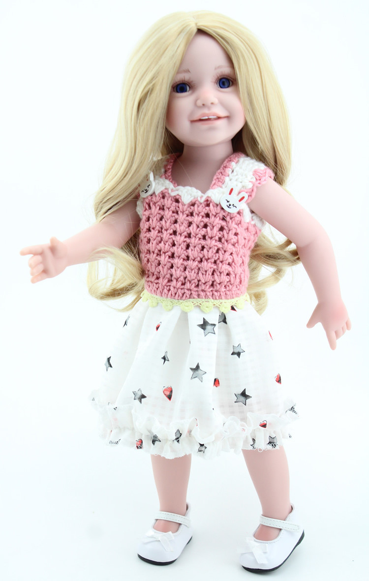 Wholesale Vinyl American 18 Inch Girl Doll Collection Baby