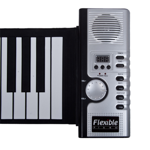 2015 New Fashion Hot  Sale  61 USB  Keys MIDI Digital Flexible  Roll-Up Soft Electronic Keyboard piano suitable for all lovers(China (Mainland))