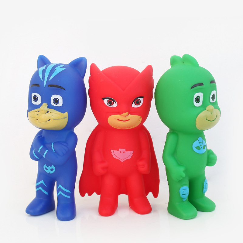 3pcs 9cm A Set of PJ Masks Toys in Action Figure for Boys and Girls Gifts Pj Masks Party