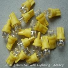 GOOD!LED bubble inserted Au Tau DC124V YELLOW T8/10 LED030-2 10pcs(China (Mainland))
