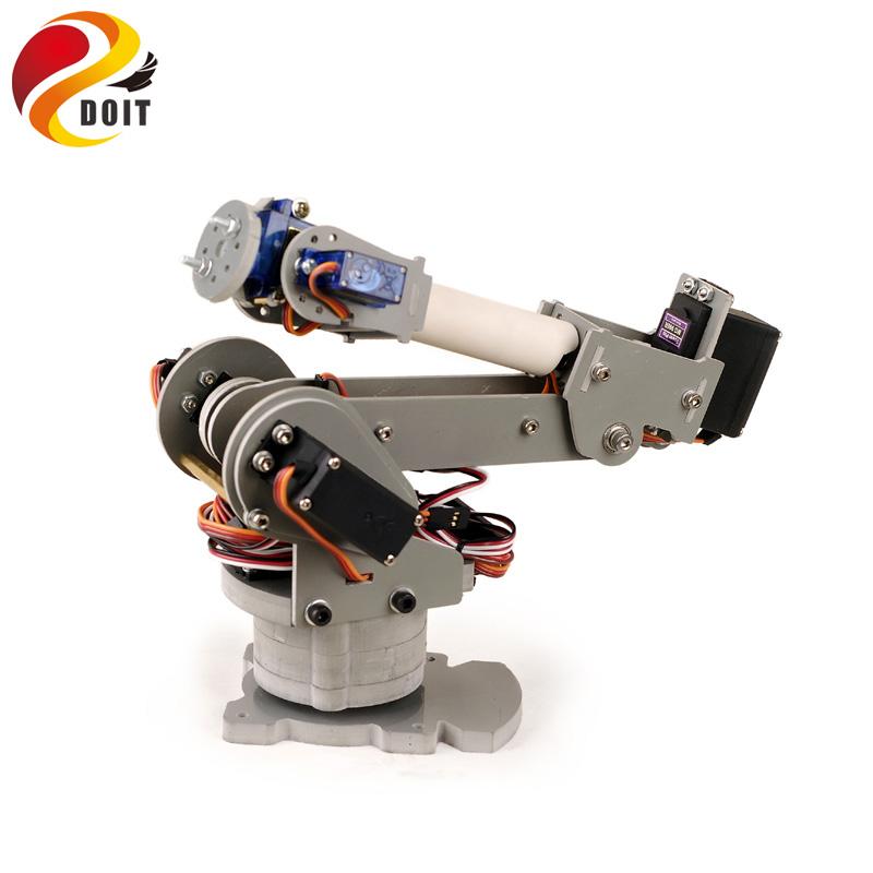 Original Doit 6 Dof Robotic Arm Model Motor Servo Cnc All