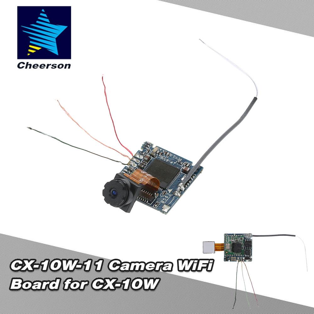 100% Original Cheerson CX-10W-11 PCB Camera WiFi Board for CX-10W RC Quadcopter High Quality RC Toys & Hobbies Parts(China (Mainland))