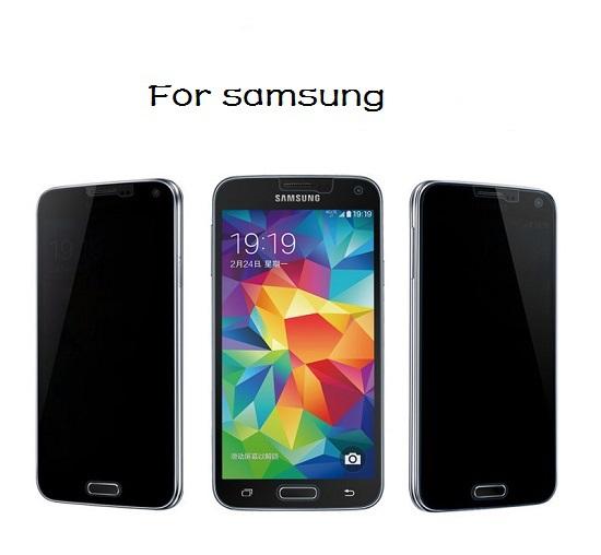 Здесь можно купить  50pcs Premium Real TemperedGlass Privacy Anti Spy Screen Protector Protective For Samsung galaxy Note 4 N9100 IV Free shipping  Телефоны и Телекоммуникации