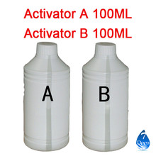 Free shipping 100ml Activator A and B for Water Transfer Printing  Film , decorative material(China (Mainland))