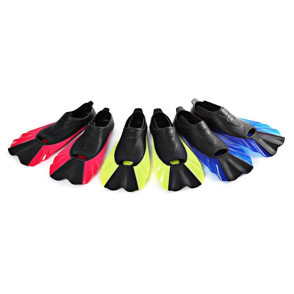 Teens Adult XXS-L Size Short Flippers Snorkeling Shoes Fins Professional Scuba Diving Equipment For Swim pool Training Fishing(China (Mainland))