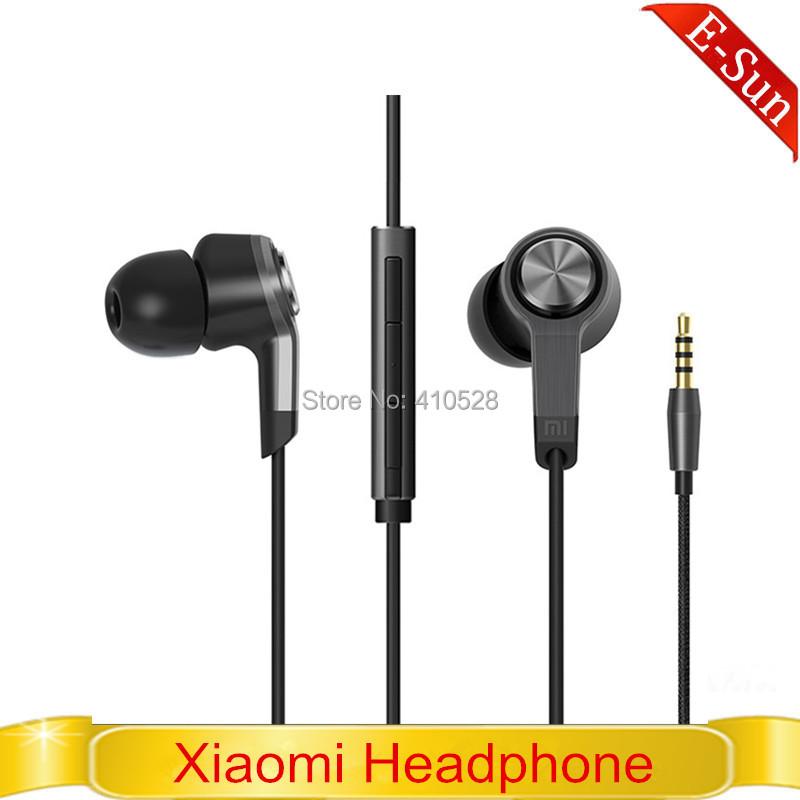 Stock! Original Xiaomi 3rd Piston Earphone 3 In-Ear Headphone Headset Remote Mic Lenovo Android Phone - E-Sun Mobile store