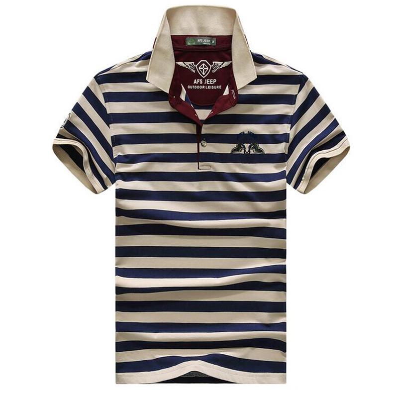 High quality brand men polo shirt new summer casual striped cotton men's polo solid polo shirt polo ralp men camisa