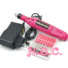 1Set Professional Electric Nail Kit Nail Tips Manicure Machine Electric Nail Drill art Pen Pedicure Bits Nail Art Tools Kit(China (Mainland))
