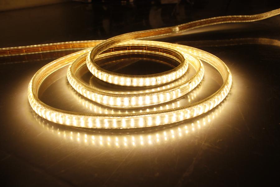 5050 led strip 220V flexible led strip light SMD3014 Double Row Waterproof led light strip 1M2M3M4M5M6M7M8M9M10M 240leds/m(China (Mainland))