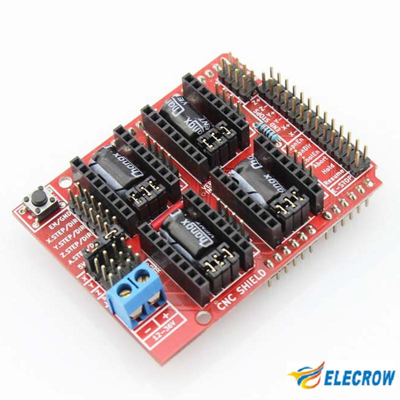 High quality d printer cnc shield for arduino uno r