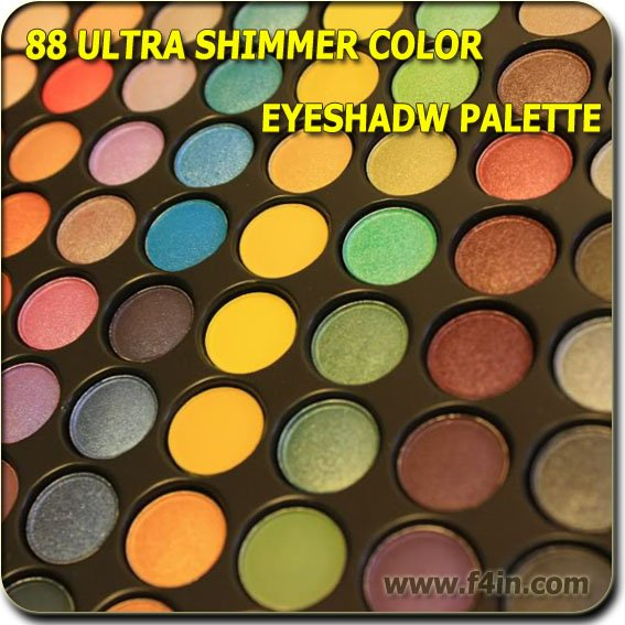 88 Colors Pro Super Ultra Shimmer EyeShadow Palette Eye Shadow Cosmetic Palette With Mirror Set G88 Kit Free Shipping Wholesale(China (Mainland))