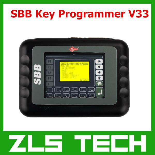 2015 Latest OBD2 Key Programmer New SBB Key Programmer V33.02 Version Free Shipping(China (Mainland))