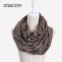 2017 New women fashion neck scarf cotton dot pattern decoration autumn winter warm scarf(China (Mainland))
