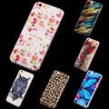 New Arrival Silicone Phone Case Soft Painted Back Cover For iphone 6 6s TPU Case For