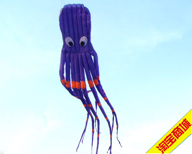 Weifang kite 8 meter tube big octopus classic(China (Mainland))