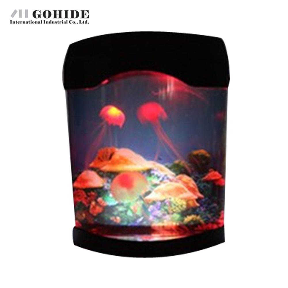 online kaufen gro handel led quallen aquarium aus china. Black Bedroom Furniture Sets. Home Design Ideas