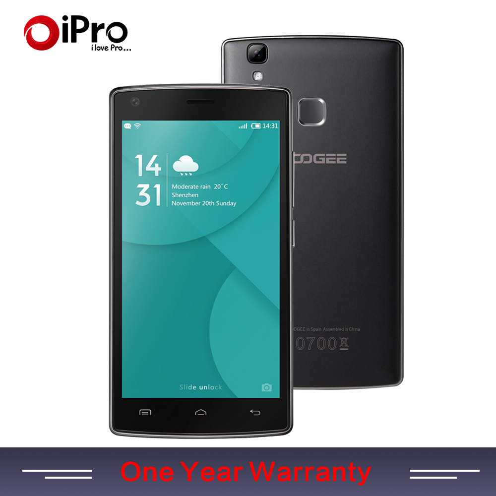 """In Stock Original DOOGEE X5 MAX Android 6.0 Smartphone Fingerprint 5.0"""" 1280*720 IPS MTK6580 Cell Mobile Phone Support Facebook(China (Mainland))"""