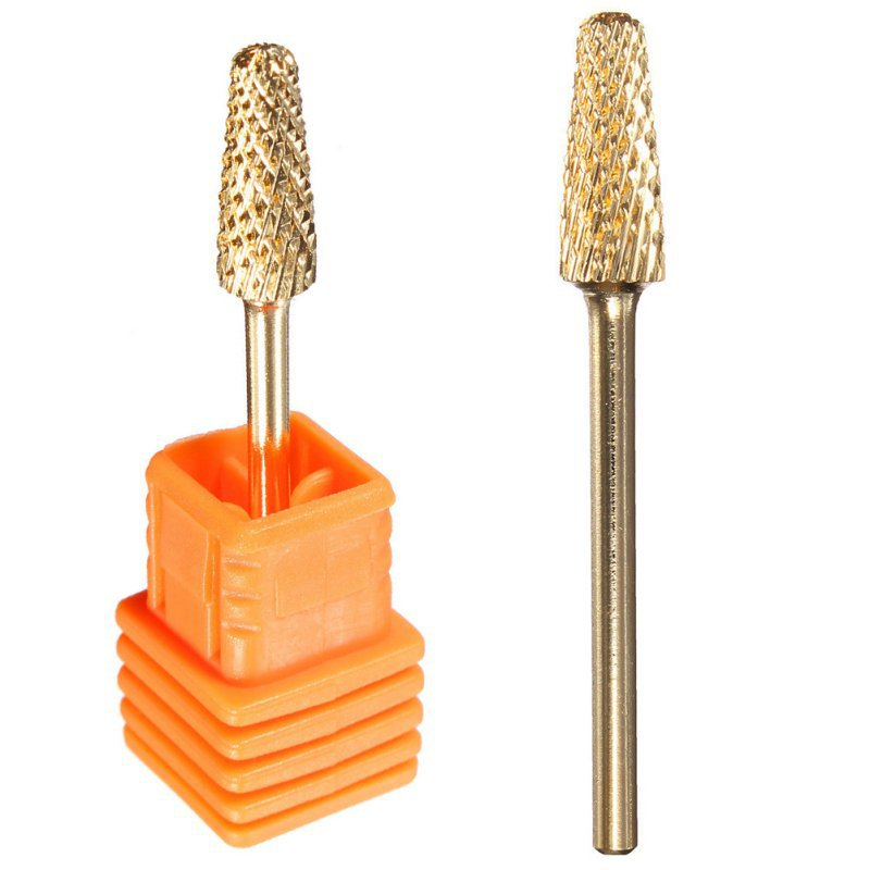 Wholesale 1Pcs Electric Cylinder Head File Grinding Drill Bits Manicure Pedicure Nail Art Tool(China (Mainland))