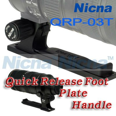 wholesale QRP-03T Quick Release Foot/Plate/Handle For Nikon 70-200 VR VR2 / F2.8 Lens/Tripod(Hong Kong)