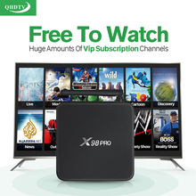 Buy Smart X98PRO S912 Android tv Box 2g+16g Media Player 1300+ HD IPTV Europe Arabic French Subscription 1 year QHDTV Account for $81.05 in AliExpress store