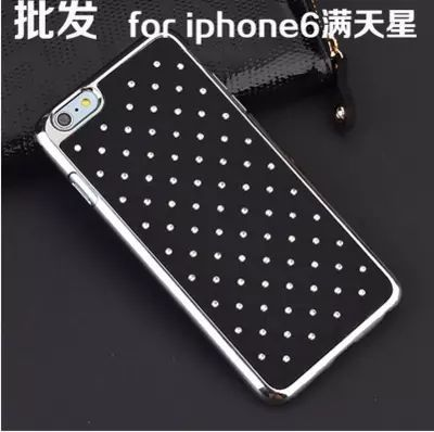 """1x Luxury Rhinestone Bling Diamond Plastic Case Cover for iPhone 6 4.7"""" Back Cover Case Free Shipping(China (Mainland))"""