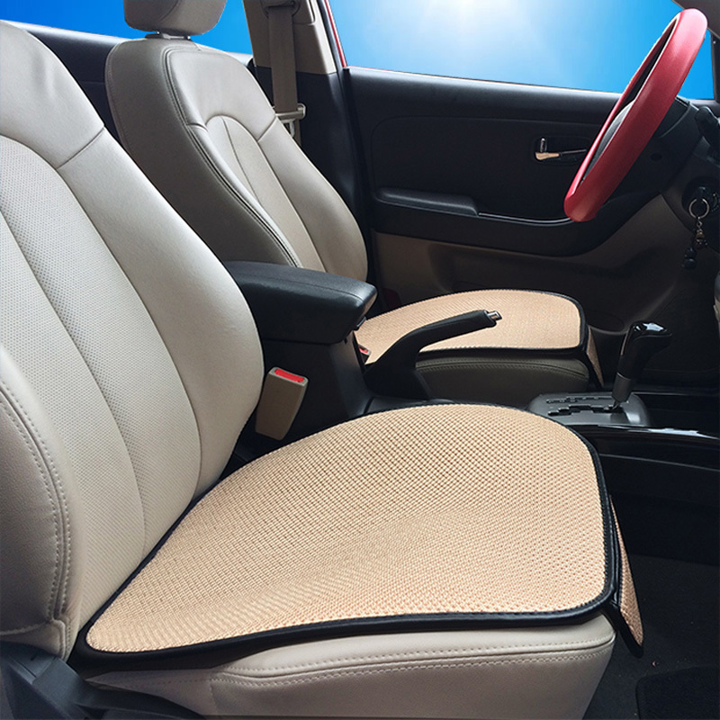 summer breathable cooling ice silk car seat cushion pad office home chair cover in seat covers. Black Bedroom Furniture Sets. Home Design Ideas
