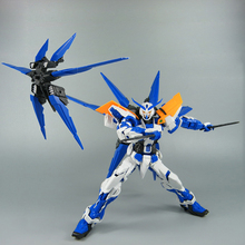 Anime Gundam Astray Blue Frame EffectsWings 1/100 model Robot / winged jetpack arms package / Assembled kids Puzzle boy toy gift