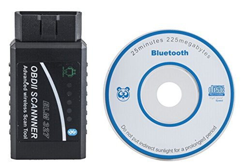 ELM327 Super Mini Bluetooth OBD2 Diagnostic Scanner ELM 327 OBD2 Scanner Advanced Wireless Toor for Professional Diagnostic Tool(China (Mainland))