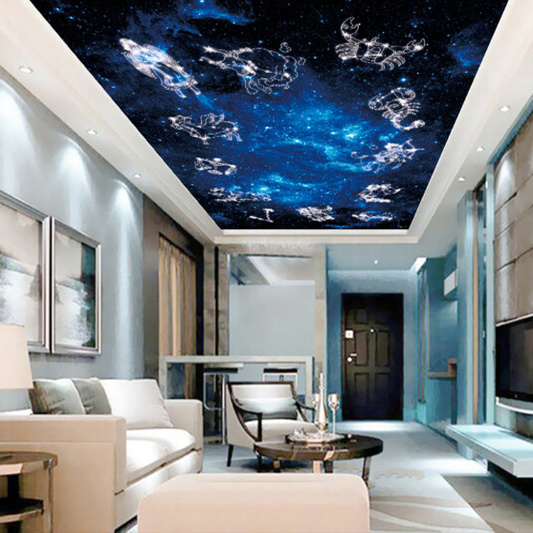 Popular constellations ceiling buy cheap constellations for Constellation ceiling mural