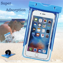 PVC Waterproof Diving Arm Bag Mobile Phones Underwater Pouch Cases Meizu MX5 m2 MX4 MX3 MX2 Case OnePlus X 2 One 3 Bags - Shenzhen DYS Technology Co., Ltd. store