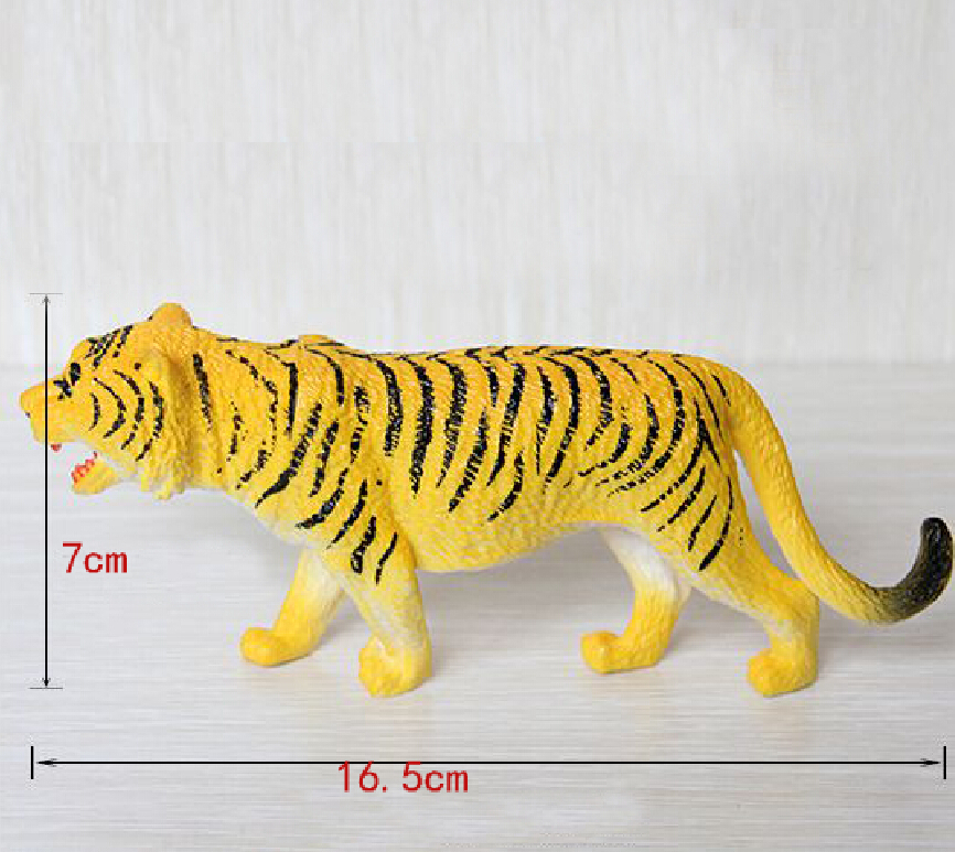 tigers toys Action Figures Model Wild Animal PVC Early Educational plastic Boys Collections Toy Figure Children Gift(China (Mainland))