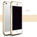 Circle Arc Metal Aluminum Bumper mobile Phone Bags Case for iphone 5 5s