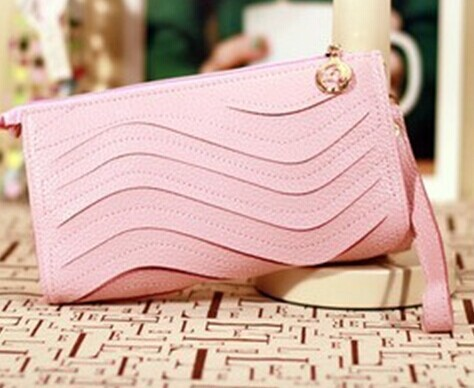 Beautiful  Trifolds Clutch For Girls Coin Purse Card Holders Female Money Bag