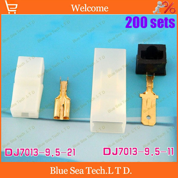 Free Shipping 200 sets DJ7013-9.5 1Pin/way car connector,Car Electrical connector kits for car electrombile ect.<br><br>Aliexpress