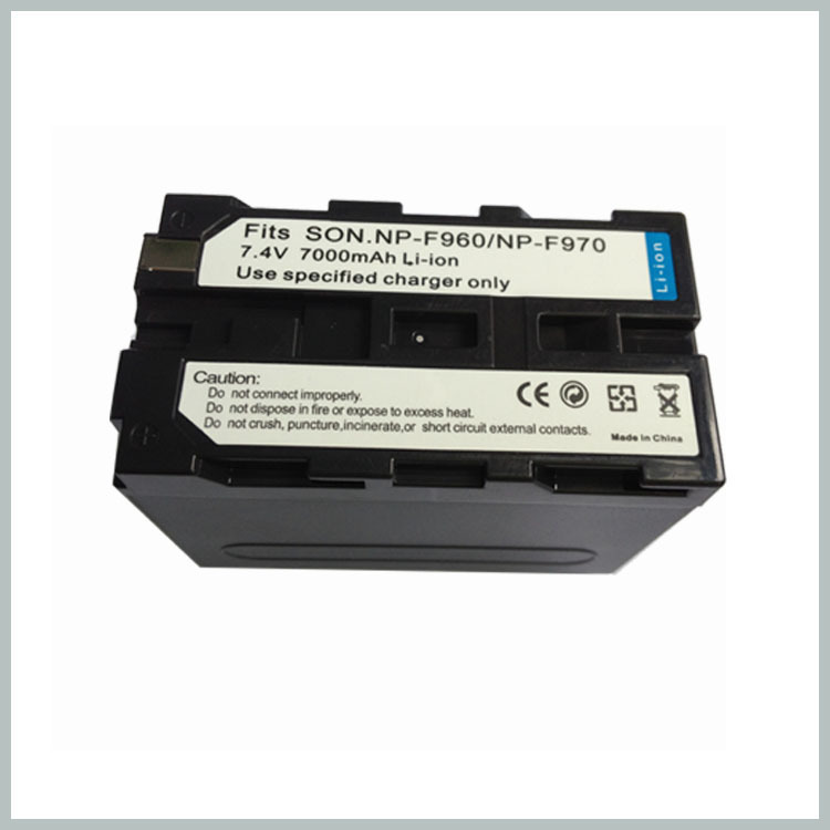 Hot !7000mAh Li-ion NP-F970 Camera Rechargeble Battery NP F970 NP960 NP970 digital Battery Wholesale price(China (Mainland))