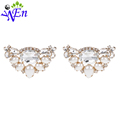 bridal wedding shoes clips decorative shop Shoe accessories shoe clip crystal rhinestones charm metal material N509
