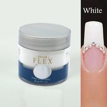 White 1 pcs 2015 new IBD Nail Art Flex Acrylic Powder Chemistry 28g Polymer Crystal(China (Mainland))