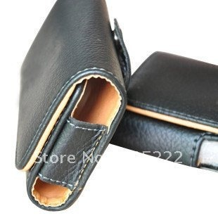 """1pc/lot Free Shipping Universal Horizontal Leather Pouch Leather Case Holster Cover for STAR N8000  leather pouch for 5.0"""" phone"""