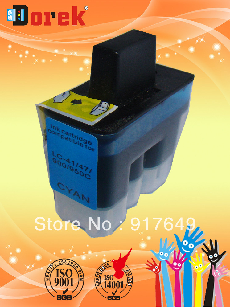 Free Shipping(4 sets/lot)Bulk package,MFC3240C, MFC3340CN Printer cartridge LC900 BK/C/M/Y Europe Marketing(China (Mainland))