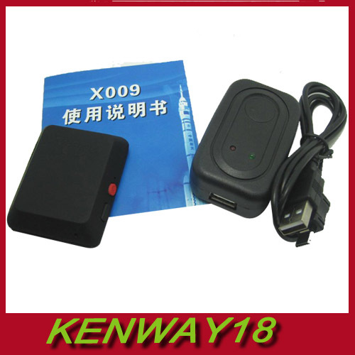 2015 Latest Edition X009 Mini Camera Monitor Video Recorder SOS DV GSM GPS Tracker Mini Camcorders With Charger(China (Mainland))