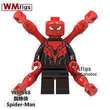 Deadpool Marvel Superheroes Spiderman Carnificina Arma Veneno de Tijolos de Construção Blocos brinquedos dos miúdos Das Crianças(China)