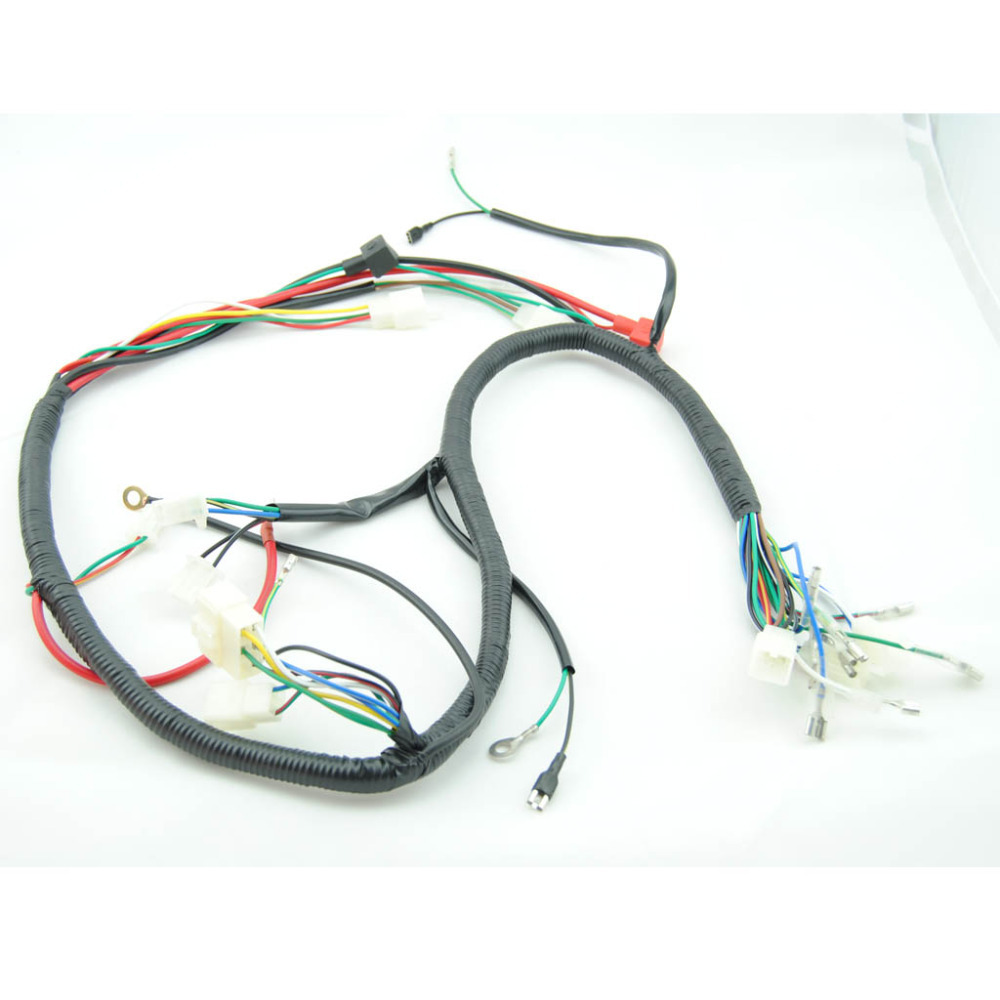 Chinese Wiring Harness Diagrams Wildfire Mini Bike Diagram Quad 200 250cc Electric Start Pit Atv