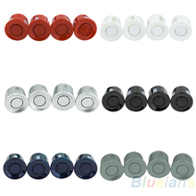Wholesale 4pcs Assistance Reversing Radar Rrobe Parking Sensors black blue gray red white silver